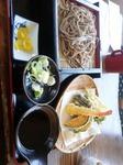 2017.4.30(日)天ざる蕎麦