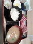 初カツオと蟹汁